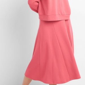 GAP Pink Fleece Shirt and Skirt Set